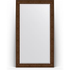 Зеркало напольное с фацетом поворотное Evoform Exclusive Floor 117x207 см, в багетной раме - состаренная бронза с орнаментом 120 мм (BY 6179) зеркало напольное с фацетом поворотное evoform exclusive floor 117x207 см в багетной раме состаренное дерево с орнаментом 120 мм by 6180
