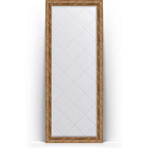 Зеркало напольное с гравировкой поворотное Evoform Exclusive-G Floor 80x200 см, в багетной раме - виньетка античная бронза 85 мм (BY 6314) зеркало с гравировкой поворотное evoform exclusive g 55x72 см в багетной раме виньетка античная бронза 85 мм by 4015