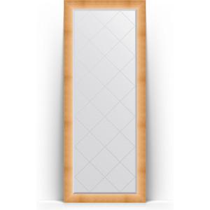 Зеркало напольное с гравировкой поворотное Evoform Exclusive-G Floor 81x201 см, в багетной раме - травленое золото 87 мм (BY 6316) зеркало напольное с гравировкой поворотное evoform exclusive g floor 110x199 см в багетной раме черный ардеко 81 мм by 6348