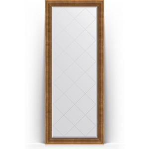Зеркало пристенное напольное с гравировкой Evoform Exclusive-G Floor 82x202 см, в багетной раме - бронзовый акведук 93 мм (BY 6322) зеркало пристенное напольное с гравировкой evoform exclusive g floor 84x203 см в багетной раме византия бронза 99 мм by 6326