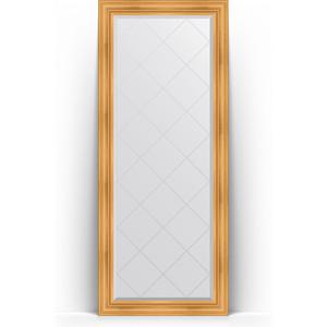 Зеркало напольное с гравировкой поворотное Evoform Exclusive-G Floor 84x204 см, в багетной раме - травленое золото 99 мм (BY 6327) цена 2017