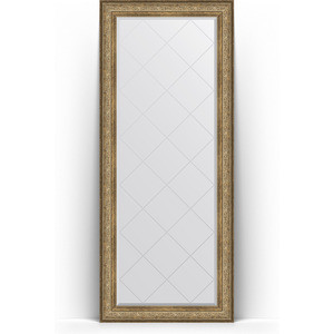 Фото - Зеркало напольное с гравировкой поворотное Evoform Exclusive-G Floor 85x205 см, в багетной раме - виньетка античная бронза 109 мм (BY 6335) зеркало с гравировкой поворотное evoform exclusive g 100x175 см в багетной раме виньетка античная бронза 109 мм by 4425