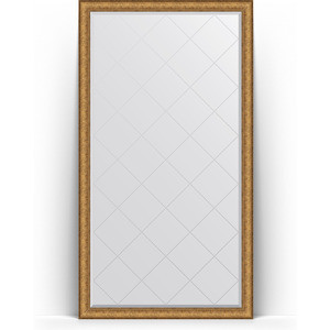 Зеркало напольное с гравировкой поворотное Evoform Exclusive-G Floor 109x198 см, в багетной раме - медный эльдорадо 73 мм (BY 6346) зеркало с гравировкой evoform exclusive g 64x86 см в багетной раме медный эльдорадо 73 мм by 4094