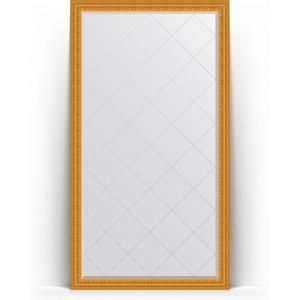 Зеркало напольное с гравировкой поворотное Evoform Exclusive-G Floor 110x199 см, в багетной раме - сусальное золото 80 мм (BY 6349) зеркало напольное с гравировкой поворотное evoform exclusive g floor 110x199 см в багетной раме черный ардеко 81 мм by 6348