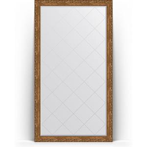 Зеркало напольное с гравировкой поворотное Evoform Exclusive-G Floor 110x200 см, в багетной раме - виньетка бронзовая 85 мм (BY 6352) зеркало с гравировкой поворотное evoform exclusive g 130x185 см в багетной раме виньетка бронзовая 85 мм by 4486