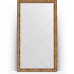 Зеркало напольное с гравировкой поворотное Evoform Exclusive-G Floor 110x200 см, в багетной раме - виньетка античная бронза 85 мм (BY 6354) зеркало с гравировкой поворотное evoform exclusive g 55x72 см в багетной раме виньетка античная бронза 85 мм by 4015