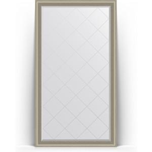 Зеркало напольное с гравировкой поворотное Evoform Exclusive-G Floor 111x201 см, в багетной раме - хамелеон 88 мм (BY 6360) зеркало с гравировкой поворотное evoform exclusive g 56x126 см в багетной раме хамелеон 88 мм by 4063