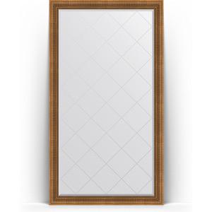 Зеркало пристенное напольное с гравировкой Evoform Exclusive-G Floor 112x202 см, в багетной раме - бронзовый акведук 93 мм (BY 6362) cityup nce floor салфетка из микрофибры ca 112 xl