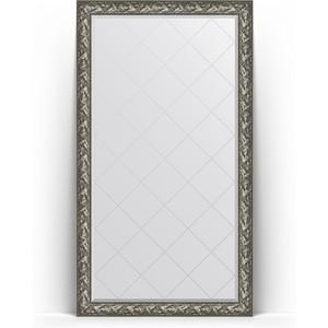 Зеркало напольное с гравировкой поворотное Evoform Exclusive-G Floor 114x203 см, в багетной раме - византия серебро 99 мм (BY 6365) зеркало напольное с фацетом поворотное evoform exclusive floor 114x203 см в багетной раме византия бронза 99 мм by 6166