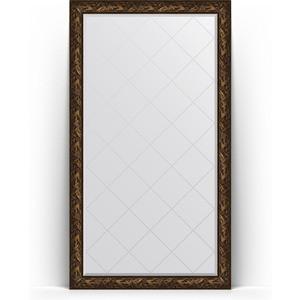 Зеркало напольное с гравировкой поворотное Evoform Exclusive-G Floor 114x203 см, в багетной раме - византия бронза 99 мм (BY 6366) зеркало напольное с фацетом поворотное evoform exclusive floor 114x203 см в багетной раме византия бронза 99 мм by 6166