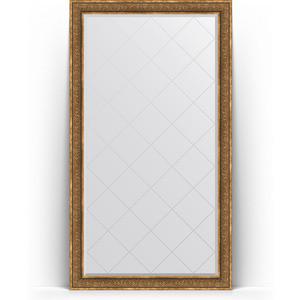 Фото - Зеркало напольное с гравировкой поворотное Evoform Exclusive-G Floor 114x204 см, в багетной раме - вензель бронзовый 101 мм (BY 6371) зеркало напольное с гравировкой поворотное evoform exclusive g floor 114x204 см в багетной раме травленое золото 99 мм by 6367