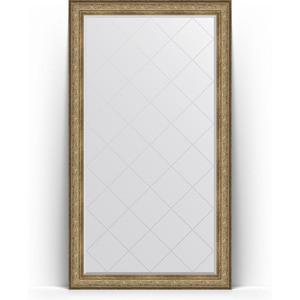 Фото - Зеркало напольное с гравировкой поворотное Evoform Exclusive-G Floor 115x205 см, в багетной раме - виньетка античная бронза 109 мм (BY 6375) зеркало с гравировкой поворотное evoform exclusive g 100x175 см в багетной раме виньетка античная бронза 109 мм by 4425