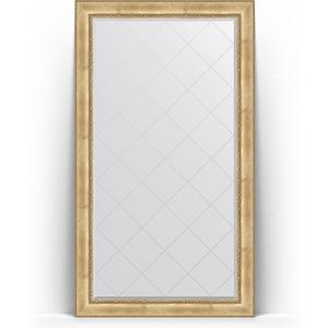 Зеркало напольное с гравировкой поворотное Evoform Exclusive-G Floor 117x207 см, в багетной раме - состаренное серебро с орнаментом 120 мм (BY 6378) зеркало с гравировкой evoform exclusive g 102x127 см в багетной раме состаренное серебро с орнаментом 120 мм by 4385