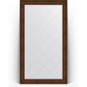 Зеркало напольное с гравировкой поворотное Evoform Exclusive-G Floor 117x207 см, в багетной раме - состаренная бронза с орнаментом 120 мм (BY 6379) зеркало с гравировкой поворотное evoform exclusive g 82x110 см в багетной раме состаренная бронза с орнаментом 120 мм by 4214
