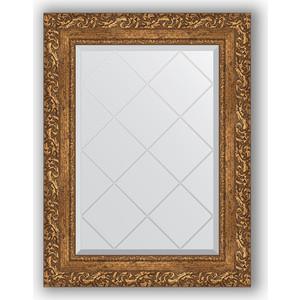 Зеркало с гравировкой поворотное Evoform Exclusive-G 55x72 см, в багетной раме - виньетка бронзовая 85 мм (BY 4013) зеркало с гравировкой поворотное evoform exclusive g 55x72 см в багетной раме виньетка античная бронза 85 мм by 4015