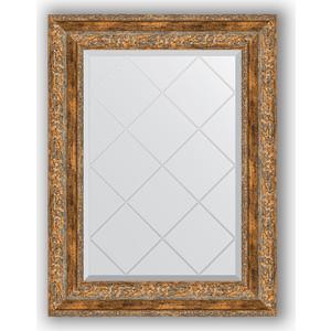 Зеркало с гравировкой поворотное Evoform Exclusive-G 55x72 см, в багетной раме - виньетка античная бронза 85 мм (BY 4015) зеркало с гравировкой поворотное evoform exclusive g 55x72 см в багетной раме виньетка античная бронза 85 мм by 4015
