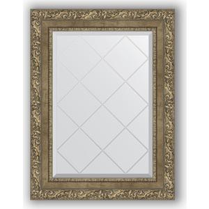 Зеркало с гравировкой поворотное Evoform Exclusive-G 55x72 см, в багетной раме - виньетка античная латунь 85 мм (BY 4016) зеркало с гравировкой поворотное evoform exclusive g 55x72 см в багетной раме виньетка античная бронза 85 мм by 4015