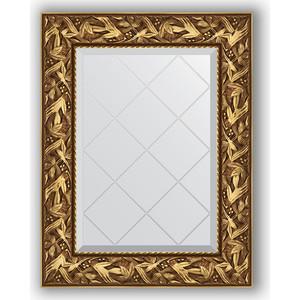 Зеркало с гравировкой поворотное Evoform Exclusive-G 59x76 см, в багетной раме - византия золото 99 мм (BY 4027) зеркало с гравировкой поворотное evoform exclusive g 99x124 см в багетной раме византия золото 99 мм by 4371