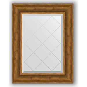 Зеркало с гравировкой поворотное Evoform Exclusive-G 59x76 см, в багетной раме - травленая бронза 99 мм (BY 4032) зеркало с гравировкой поворотное evoform exclusive g 99x124 см в багетной раме травленая бронза 99 мм by 4376