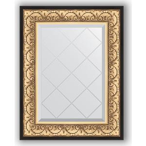 Зеркало с гравировкой поворотное Evoform Exclusive-G 60x77 см, в багетной раме - барокко золото 106 мм (BY 4036) зеркало с гравировкой поворотное evoform exclusive g 80x135 см в багетной раме барокко золото 106 мм by 4251