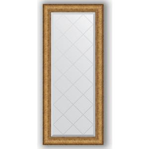 Зеркало с гравировкой поворотное Evoform Exclusive-G 54x123 см, в багетной раме - медный эльдорадо 73 мм (BY 4051) зеркало с гравировкой evoform exclusive g 64x86 см в багетной раме медный эльдорадо 73 мм by 4094