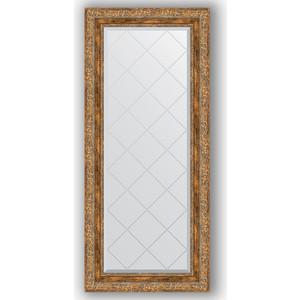 Зеркало с гравировкой поворотное Evoform Exclusive-G 55x125 см, в багетной раме - виньетка античная бронза 85 мм (BY 4058) зеркало с гравировкой поворотное evoform exclusive g 55x72 см в багетной раме виньетка античная бронза 85 мм by 4015