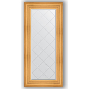 Зеркало с гравировкой поворотное Evoform Exclusive-G 59x128 см, в багетной раме - травленое золото 99 мм (BY 4073) maxel g 99 1005250348