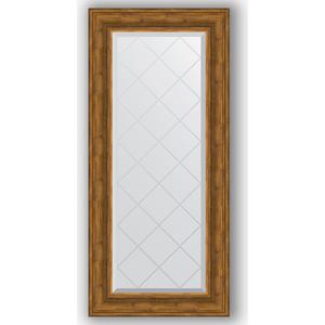 Зеркало с гравировкой поворотное Evoform Exclusive-G 59x128 см, в багетной раме - травленая бронза 99 мм (BY 4075) 1 g 99 99