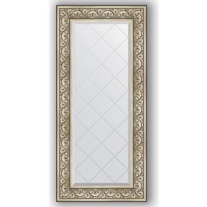 Зеркало с гравировкой поворотное Evoform Exclusive-G 60x130 см, в багетной раме - барокко серебро 106 мм (BY 4080) рюкзак leo ventoni leo ventoni le683bwxxv44