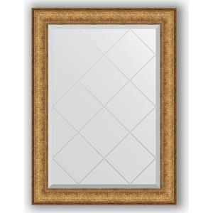 Зеркало с гравировкой поворотное Evoform Exclusive-G 64x86 см, в багетной раме - медный эльдорадо 73 мм (BY 4094) зеркало с гравировкой evoform exclusive g 64x86 см в багетной раме медный эльдорадо 73 мм by 4094