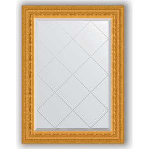 Зеркало с гравировкой поворотное Evoform Exclusive-G 65x87 см, в багетной раме - сусальное золото 80 мм (BY 4095) зеркало с гравировкой поворотное evoform exclusive g 130x184 см в багетной раме сусальное золото 80 мм by 4482