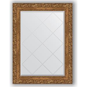 Зеркало с гравировкой поворотное Evoform Exclusive-G 65x87 см, в багетной раме - виньетка бронзовая 85 мм (BY 4099) зеркало с гравировкой поворотное evoform exclusive g 130x185 см в багетной раме виньетка бронзовая 85 мм by 4486
