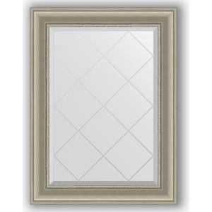 Зеркало с гравировкой поворотное Evoform Exclusive-G 66x89 см, в багетной раме - хамелеон 88 мм (BY 4106)