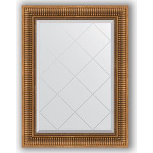 Зеркало с гравировкой поворотное Evoform Exclusive-G 67x90 см, в багетной раме - бронзовый акведук 93 мм (BY 4111) картридж cactus cs tn2075