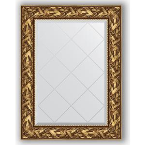Зеркало с гравировкой поворотное Evoform Exclusive-G 69x91 см, в багетной раме - византия золото 99 мм (BY 4113) зеркало с гравировкой поворотное evoform exclusive g 99x124 см в багетной раме византия золото 99 мм by 4371
