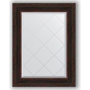 Зеркало с гравировкой поворотное Evoform Exclusive-G 69x91 см, в багетной раме - темный прованс 99 мм (BY 4119) 1 g 99 99