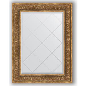 Зеркало с гравировкой Evoform Exclusive-G 69x91 см, в багетной раме - вензель бронзовый 101 мм (BY 4120)