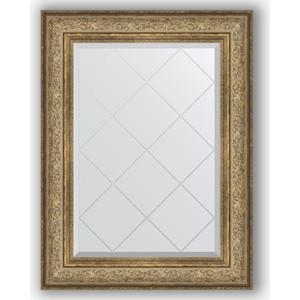 Зеркало с гравировкой поворотное Evoform Exclusive-G 70x93 см, в багетной раме - виньетка античная бронза 109 мм (BY 4124) profi cook pc vk 1080