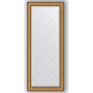 Зеркало с гравировкой поворотное Evoform Exclusive-G 64x153 см, в багетной раме - медный эльдорадо 73 мм (BY 4137) зеркало с гравировкой evoform exclusive g 64x86 см в багетной раме медный эльдорадо 73 мм by 4094