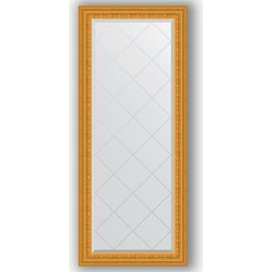 цена Зеркало с гравировкой поворотное Evoform Exclusive-G 65x154 см, в багетной раме - сусальное золото 80 мм (BY 4138)