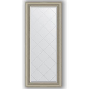 Зеркало с гравировкой поворотное Evoform Exclusive-G 66x156 см, в багетной раме - хамелеон 88 мм (BY 4149) зеркало с гравировкой поворотное evoform exclusive g 56x126 см в багетной раме хамелеон 88 мм by 4063