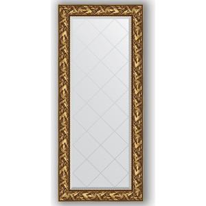 Зеркало с гравировкой поворотное Evoform Exclusive-G 69x158 см, в багетной раме - византия золото 99 мм (BY 4156) зеркало с гравировкой поворотное evoform exclusive g 99x124 см в багетной раме византия золото 99 мм by 4371