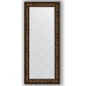 Зеркало с гравировкой поворотное Evoform Exclusive-G 69x158 см, в багетной раме - византия бронза 99 мм (BY 4158) крышка стеклянная swiss diamond zz009279