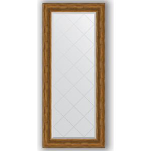 Зеркало с гравировкой поворотное Evoform Exclusive-G 69x158 см, в багетной раме - травленая бронза 99 мм (BY 4161) зеркало с гравировкой поворотное evoform exclusive g 99x124 см в багетной раме травленая бронза 99 мм by 4376