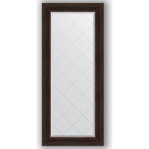 Зеркало с гравировкой поворотное Evoform Exclusive-G 69x158 см, в багетной раме - темный прованс 99 мм (BY 4162) цена 2017