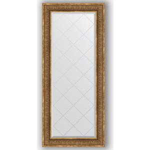 Зеркало с гравировкой Evoform Exclusive-G 69x159 см, в багетной раме - вензель бронзовый 101 мм (BY 4163)