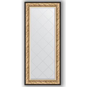 Зеркало с гравировкой поворотное Evoform Exclusive-G 70x160 см, в багетной раме - барокко золото 106 мм (BY 4165) зеркало с гравировкой поворотное evoform exclusive g 80x135 см в багетной раме барокко золото 106 мм by 4251