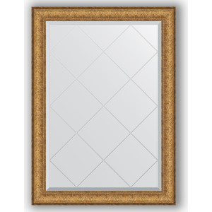 Зеркало с гравировкой поворотное Evoform Exclusive-G 74x101 см, в багетной раме - медный эльдорадо 73 мм (BY 4180) зеркало с гравировкой evoform exclusive g 64x86 см в багетной раме медный эльдорадо 73 мм by 4094