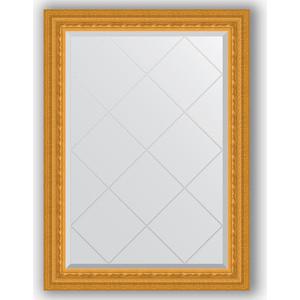 Зеркало с гравировкой поворотное Evoform Exclusive-G 75x102 см, в багетной раме - сусальное золото 80 мм (BY 4181) зеркало с гравировкой поворотное evoform exclusive g 130x184 см в багетной раме сусальное золото 80 мм by 4482