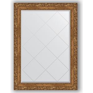 Зеркало с гравировкой поворотное Evoform Exclusive-G 75x102 см, в багетной раме - виньетка бронзовая 85 мм (BY 4185) зеркало с гравировкой поворотное evoform exclusive g 130x185 см в багетной раме виньетка бронзовая 85 мм by 4486